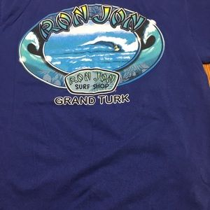 Ron Jon Surf Shop t-shirt. In size L.